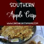Cast Iron Southern Apple Crisp Recipe