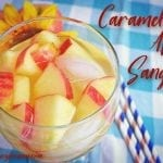 Welcome Fall with a Tasty Caramel Apple Sangria