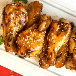 Sesame Garlic Wings in the Instant Pot®!