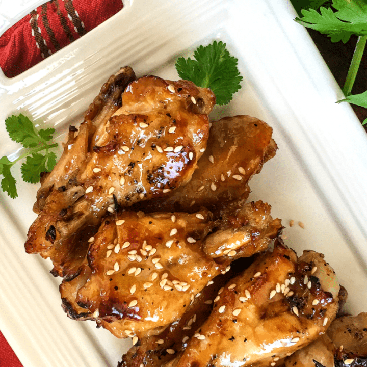 Instant Pot® Sesame Garlic Wings