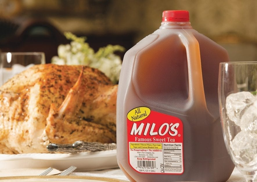 Turkey with Milo's Sweet Tea Brine