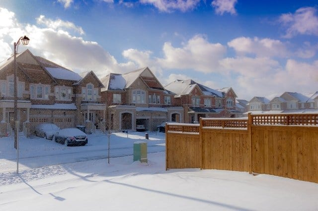 Winter Home Disasters