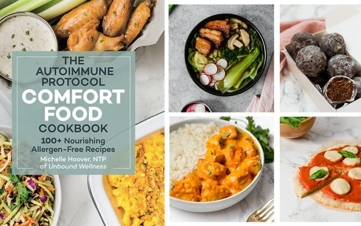 Autoimmune Protocol Comfort Food Cookbook Header